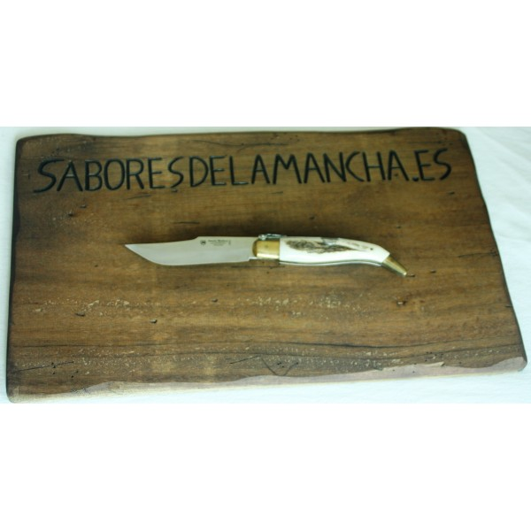 Navaja Artesana de Taramundi Premium Granadillo